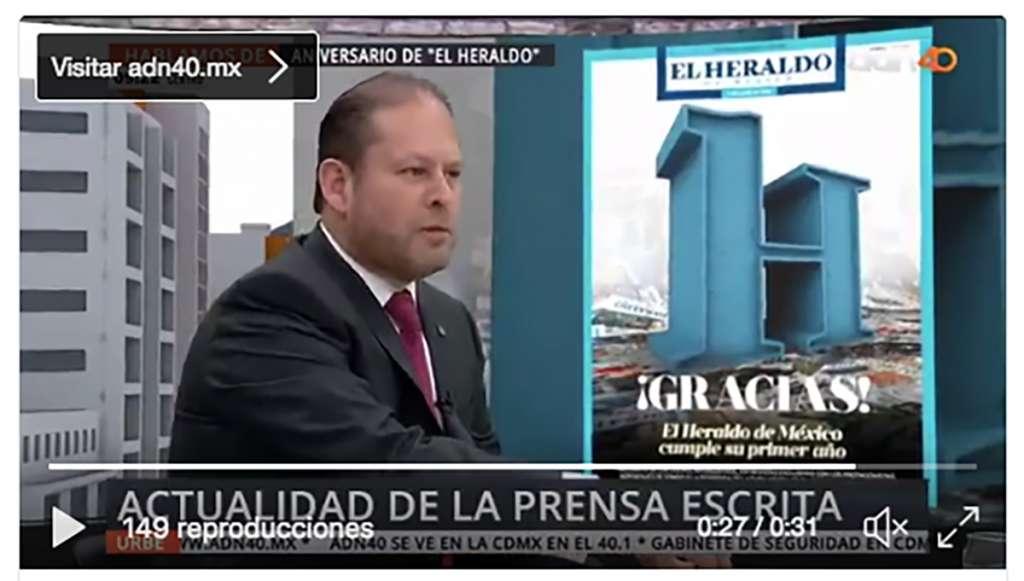 Franco Carreño destaca la importancia de informar sin caer en rumores