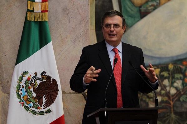 Está previsto que Ebrard se encuentre mañana miércoles con el secretario de Estado de EU, Mike Pompeo. Foto: Notimex