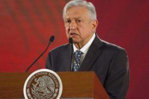 El presidente habla sobre su estimación de crecimiento económico en México. FOTO: Cuartoscuro.