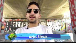 Carlos Allende desde España con las noticias