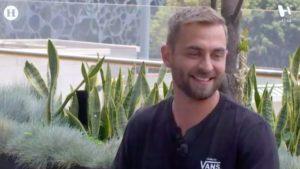 Gustavo Duccini en terraza para entrevista con Meta
