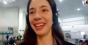 Victoria Heredia Tamez en videollamada para Meta