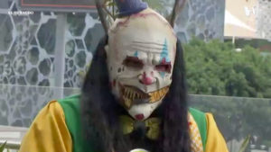 Monster Clown en terraza para entrevista con Meta