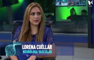 Lorena Cuellar en entrevista con Mariano Riva Palacio.