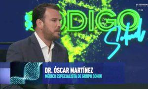 Óscar Martínez en entrevista con Mariano Riva Palacio.